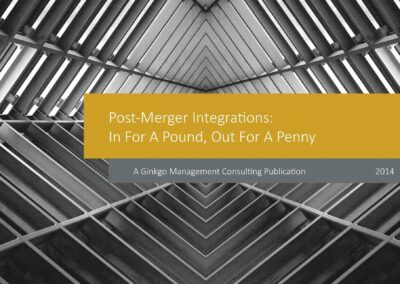 Post-Merger Integrations: In For A Pound, Out For A Penny